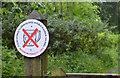 "J4582 : ""No alcohol"" sign, Helen's Bay (2) by Albert Bridge"