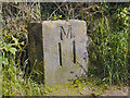 SD7908 : Milestone 11, Manchester, Bolton and Bury Canal by David Dixon