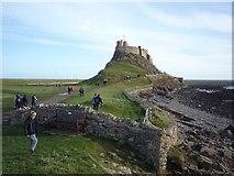 NU1341 : Lindisfarne Castle by DS Pugh