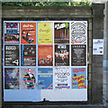 NT2573 : Posters near Potterow Port by Robin Stott
