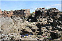 NJ1570 : Hive Rock and Daisy Rock by Anne Burgess