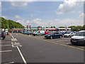 SD5276 : Burton-in-Kendal services by David P Howard