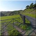 SO1300 : Minor road near Bargoed by Robin Drayton