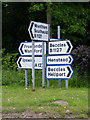 TM4882 : Roadsigns on the B1127 Guildhall Lane by Adrian Cable