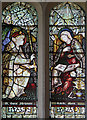 SP0106 : St Margaret, Bagendon - Stained glass window by John Salmon