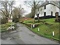 NS6110 : The entrance to Glenafton Caravan Park by Ann Cook