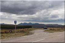 NH2276 : A stop on the A835 by Alan Reid