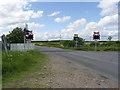NZ2690 : Potland crossing by Alan Murray-Rust