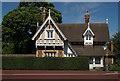 TQ3976 : Lodge, Blackheath Gate, Greenwich Park by Julian Osley