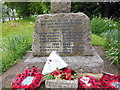 TL3058 : The War Memorial at Caxton by Ian S