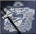 NT5578 : A British Airways motto at the National Museum of Flight Scotland by Walter Baxter