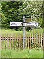 TM4585 : Roadsign on Pound Road by Adrian Cable