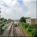 TQ1403 : Train leaving Worthing Station by Paul Gillett