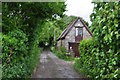 ST5163 : North Somerset : Old Barn Lane by Lewis Clarke