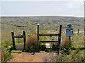 SD9912 : Pennine Way, stile onto Marsden Moor by David Dixon