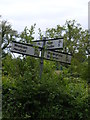 TM4584 : Roadsign on Southwell Lane by Adrian Cable