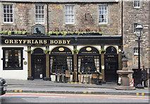 NT2573 : Greyfriars Bobby pub, Candlemaker Row, Edinburgh by Mike Pennington