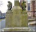 SD3347 : Fleetwood War Memorial: East side by Gerald England