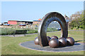 NT3975 : Sculpture at Cockenzie Harbour by Alan Murray-Rust