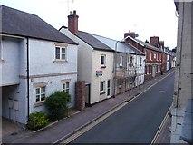 SS9512 : Tiverton : Bampton Street by Lewis Clarke