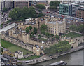 TQ3380 : Tower of London from The Shard, London SE1 by Christine Matthews