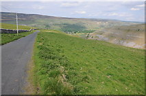 SD9170 : Road down into Littondale by Philip Halling