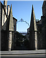 NT2673 : Gateway, Moray House, Canongate by Robin Stott