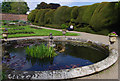 NZ1222 : Central garden, Raby Castle by Ian Taylor