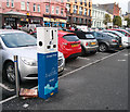 J5082 : 'E-Car' charge point, Bangor by Rossographer