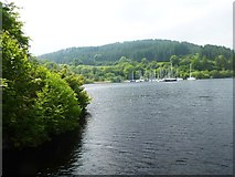 NR7992 : Yachts at Bellanoch Basin on the Crinan Canal by SMJ