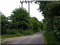 TM1241 : Oakfield Road & footpath to Church Lane by Adrian Cable