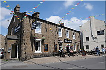 SD8789 : The Crown Hotel, Hawes by Philip Halling