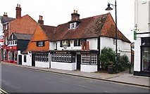 TQ1649 : The Kings Arms, 45 West Street, Dorking by P L Chadwick