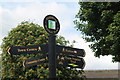 SE2403 : Signpost in Penistone by Dave Pickersgill