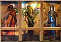 TQ3075 : St Matthew, Brixton - Stained glass window by John Salmon