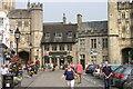 ST5545 : Wells, High Street  (3) by Chris' Buet