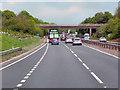 SP2664 : Warwick Bypass, Hampton Road Bridge by David Dixon