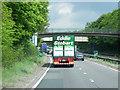 SP2665 : A46 Footbridge, Warwick Parkway by David Dixon