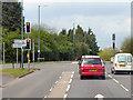 SP2665 : A4177 Birmingham Road by David Dixon