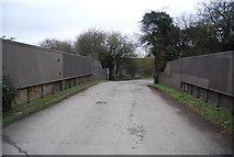TL4311 : Parndon Mill Lane Bridge by N Chadwick