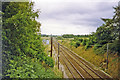TM1996 : Site of Flordon station, 1993 by Ben Brooksbank
