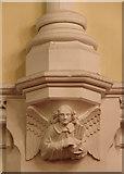 TQ3084 : St Andrew, Thornhill Square, Barnsbury - Corbel by John Salmon