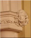 TQ3084 : St Andrew, Thornhill Square, Barnsbury - Label head by John Salmon