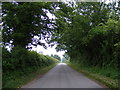 TM4581 : Clay Common Lane, Uggeshall by Adrian Cable