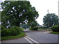TM4781 : Clay Common Lane, Frostenden by Geographer