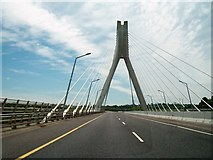O0575 : Crossing the newly renamed Mary McAleese Boyne Valley Bridge. by Eric Jones