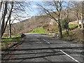 NX1988 : A bridge over a burn on the A714 by Ann Cook