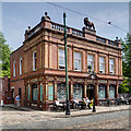 SK3454 : The Red Lion, Crich Tramway Village by David Dixon