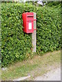 TM4781 : Clay Common Postbox by Geographer