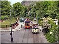 SK3455 : Crich Tramway Village, Victoria Park Tram Stop by David Dixon